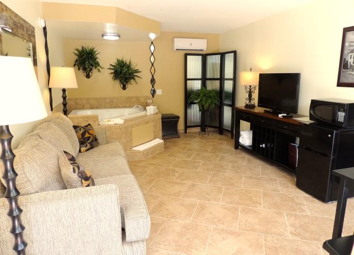 Bridal Suite Living Room 2
